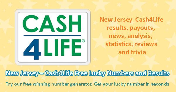 Cash 4 Life Ziehung