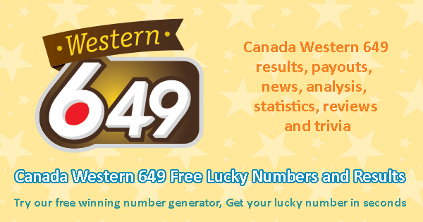 Western Pick 3 Winning Numbers