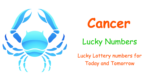 Cancer Lucky Lottery Numbers - Today and Tomorrow